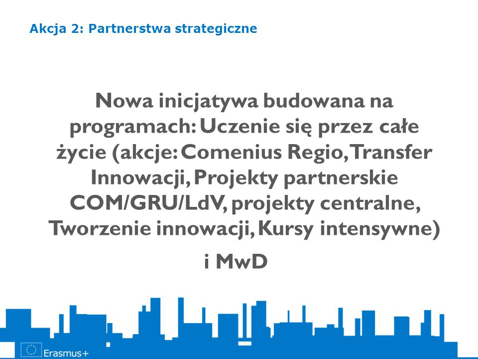 Akcja 2: Partnerstwa strategiczne