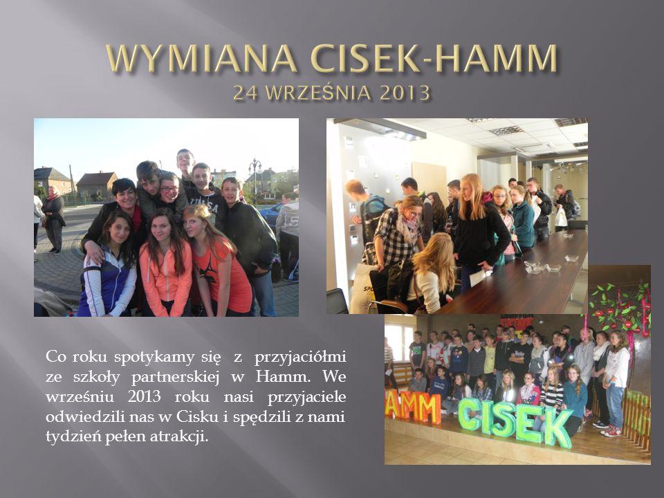 WYMIANA CISEK-HAMM 24 WRZEŚNIA 2013