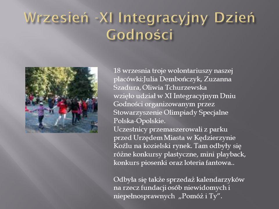 Wrzesień -XI Integracyjny Dzień Godności