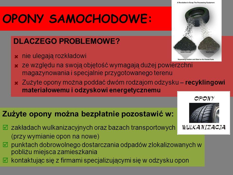 OPONY SAMOCHODOWE: DLACZEGO PROBLEMOWE