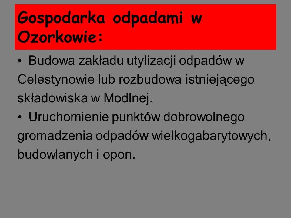 Gospodarka odpadami w Ozorkowie: