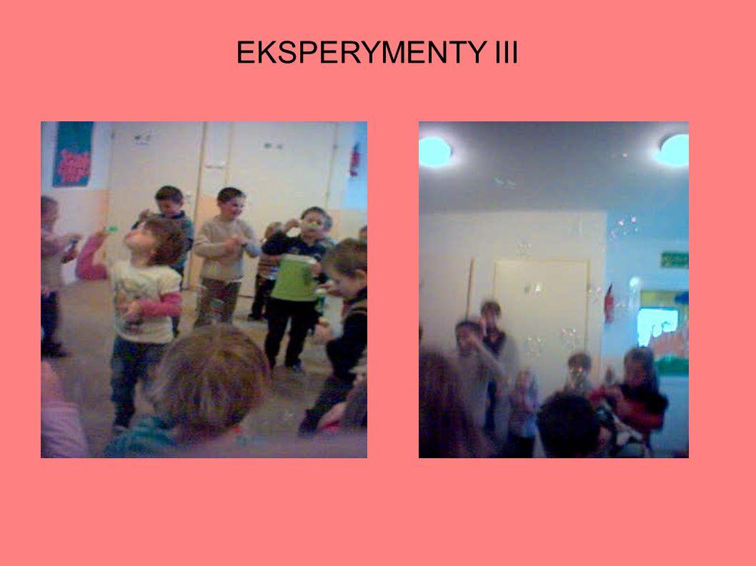 EKSPERYMENTY III