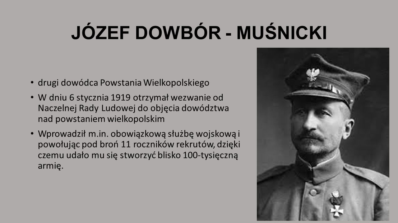 JÓZEF DOWBÓR - MUŚNICKI