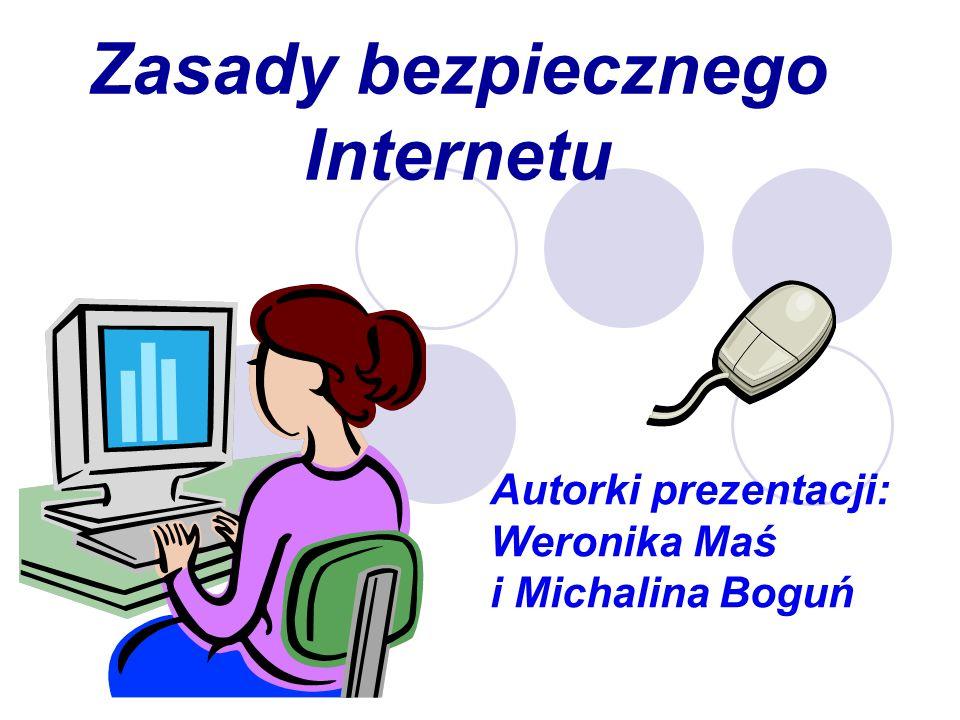 Zasady bezpiecznego Internetu