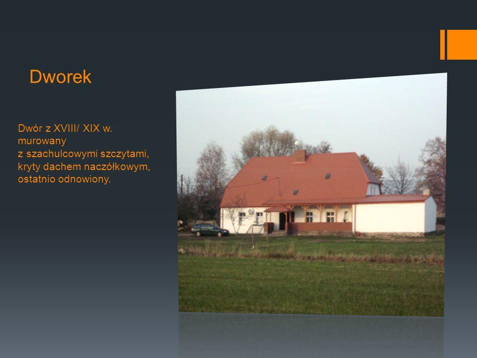 Dworek Dwór z XVIII/ XIX w.