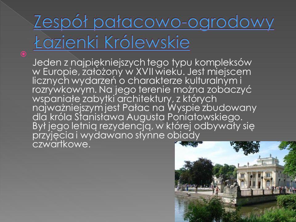 Zespół pałacowo-ogrodowy Łazienki Królewskie