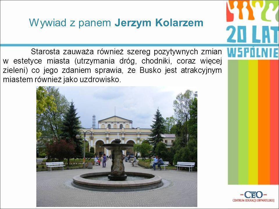 Wywiad z panem Jerzym Kolarzem