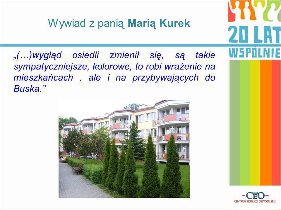 Wywiad z panią Marią Kurek
