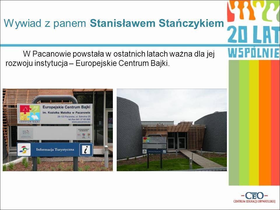 Wywiad z panem Stanisławem Stańczykiem