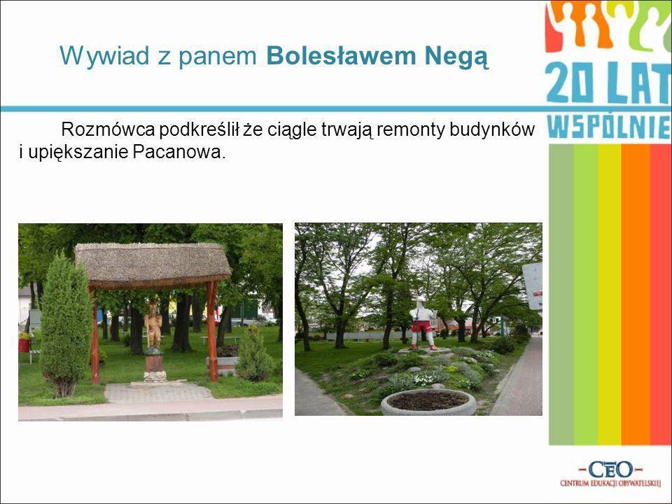 Wywiad z panem Bolesławem Negą