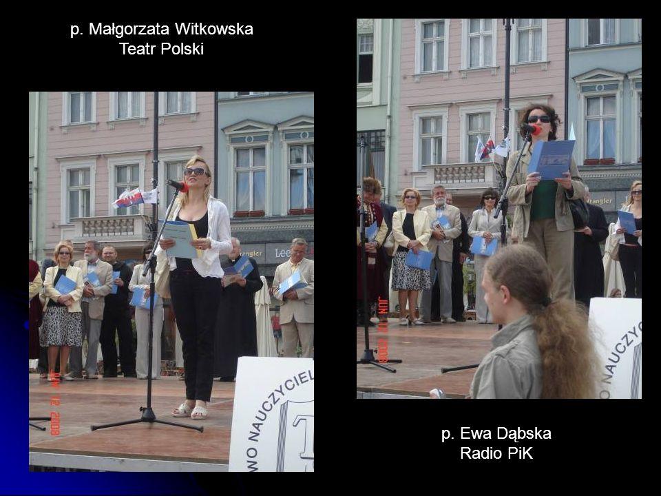 p. Małgorzata Witkowska
