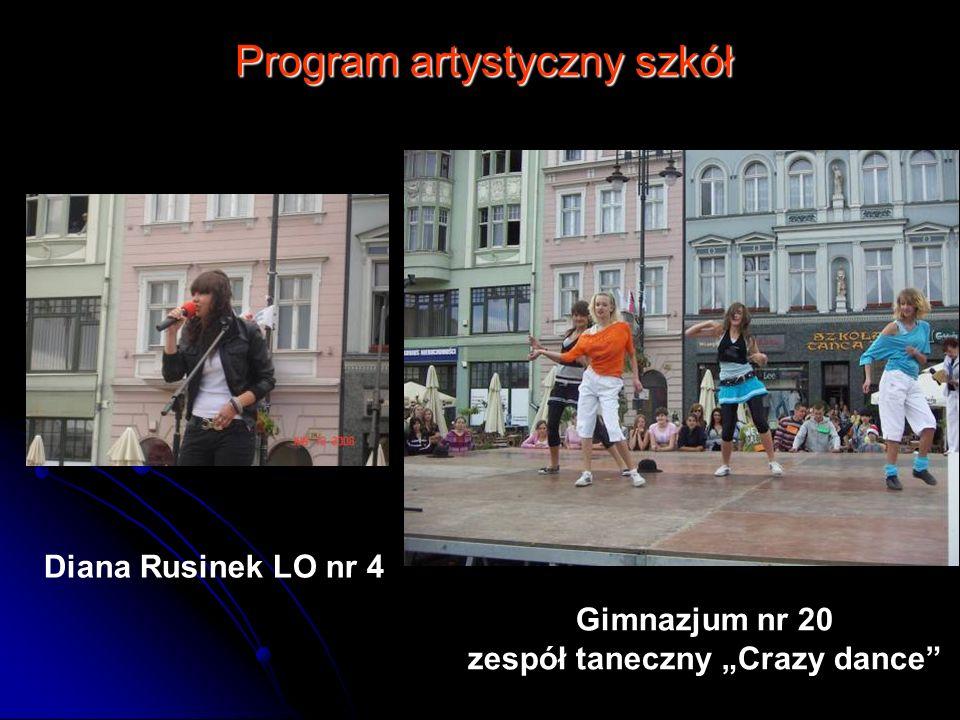 """zespół taneczny """"Crazy dance"""