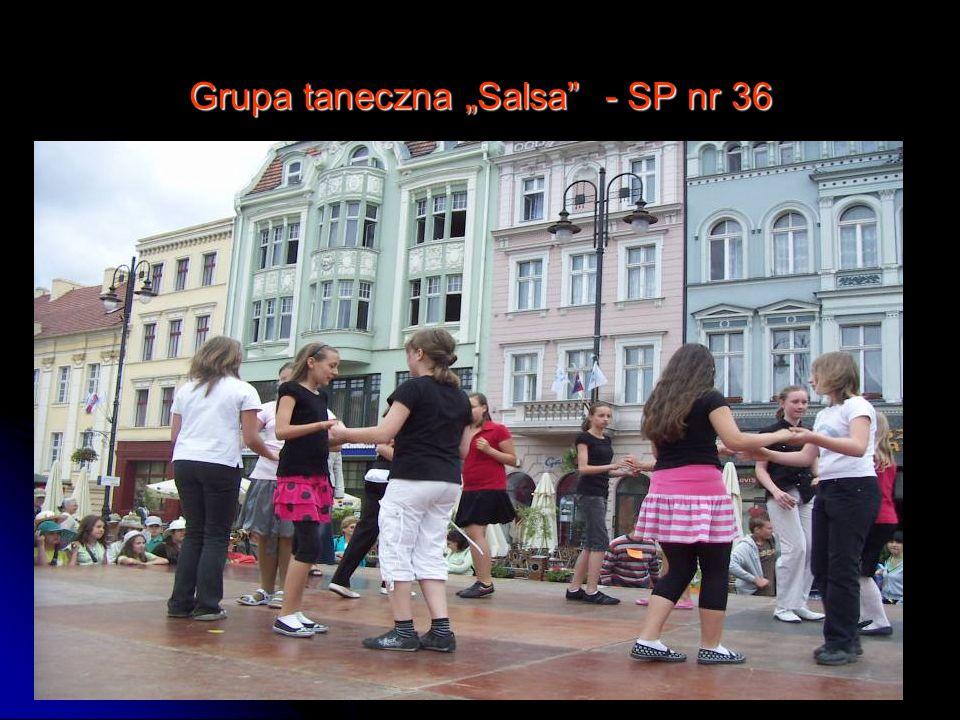 """Grupa taneczna """"Salsa - SP nr 36"""