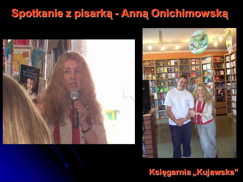 Spotkanie z pisarką - Anną Onichimowską