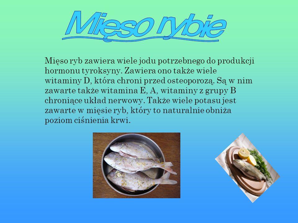 Mięso rybie