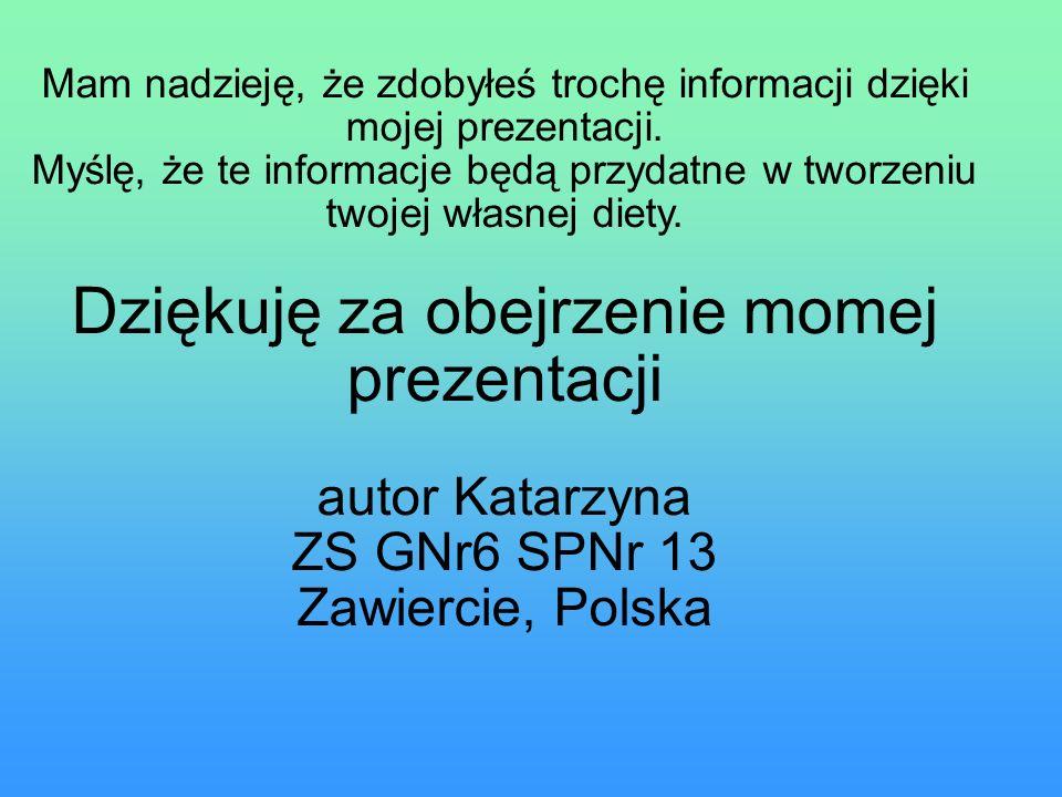 autor Katarzyna ZS GNr6 SPNr 13 Zawiercie, Polska