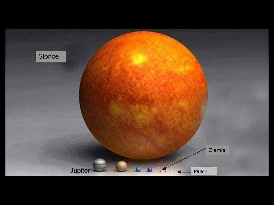Słońce Ziemia Pluton