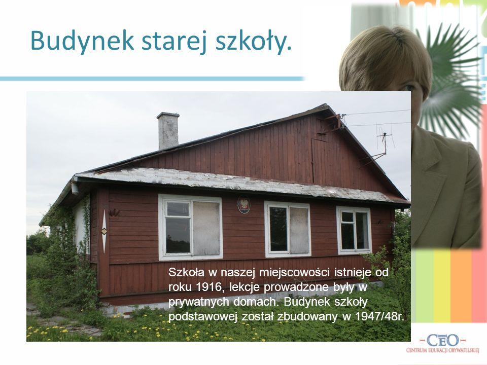 Budynek starej szkoły. Wywiad z Panią Dyrektor Beatą Gromek-Dzida:
