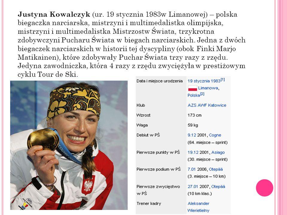 Justyna Kowalczyk (ur.