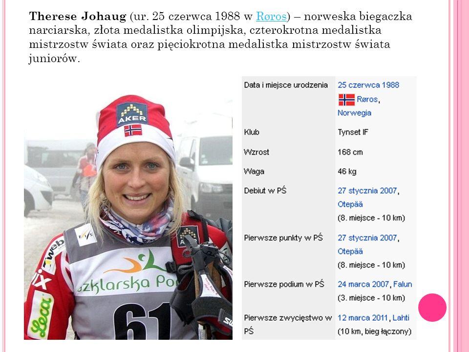 Therese Johaug (ur.