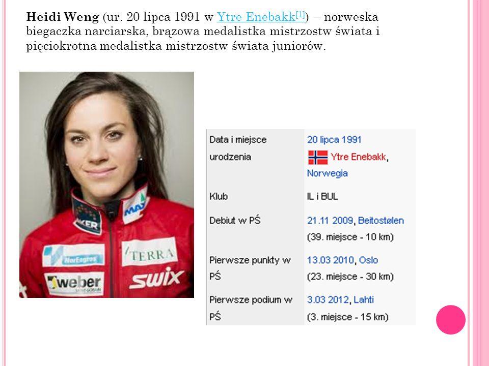 Heidi Weng (ur.