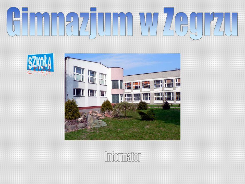 Gimnazjum w Zegrzu Informator