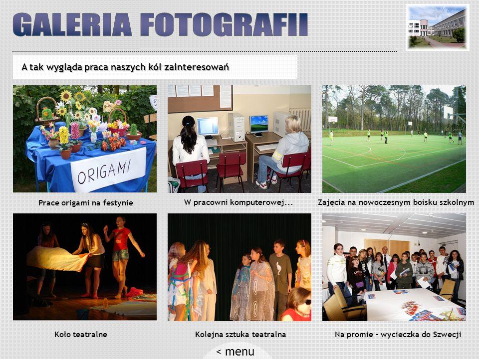GALERIA FOTOGRAFII < menu