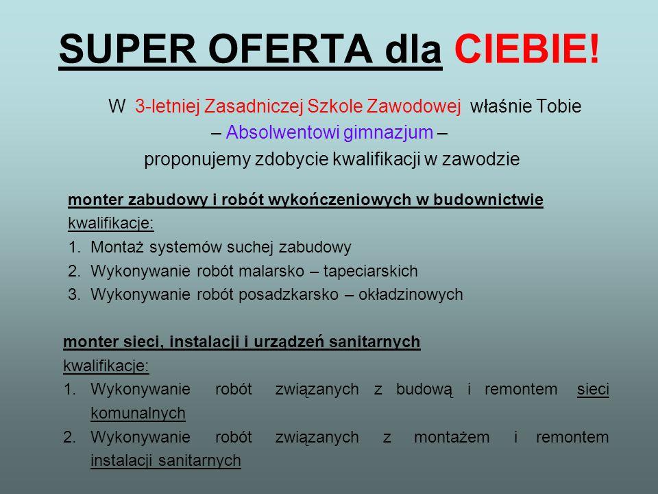SUPER OFERTA dla CIEBIE!