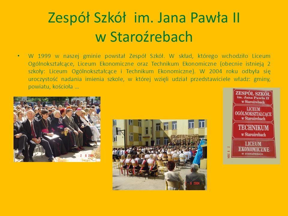 Zespół Szkół im. Jana Pawła II w Staroźrebach