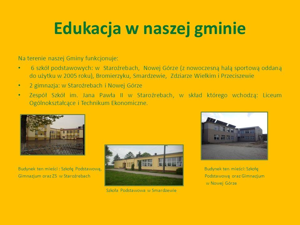 Edukacja w naszej gminie
