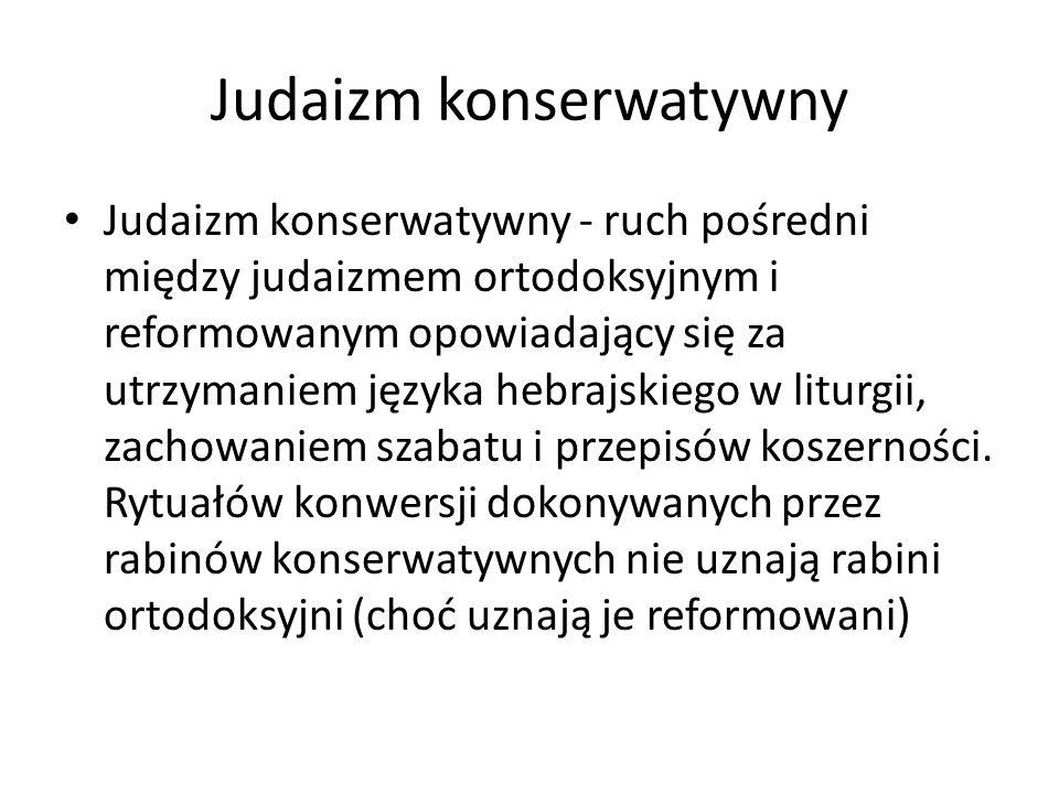 Judaizm konserwatywny