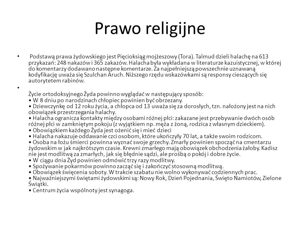 Prawo religijne