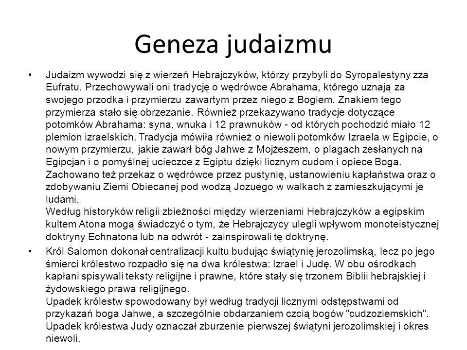 Geneza judaizmu