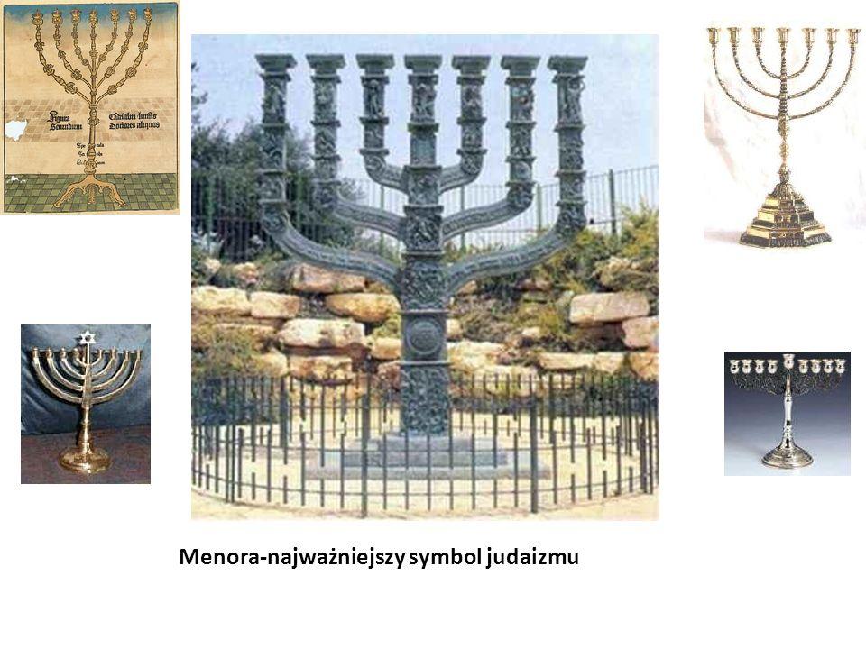 Menora-najważniejszy symbol judaizmu