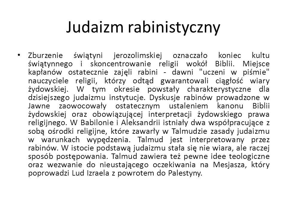 Judaizm rabinistyczny