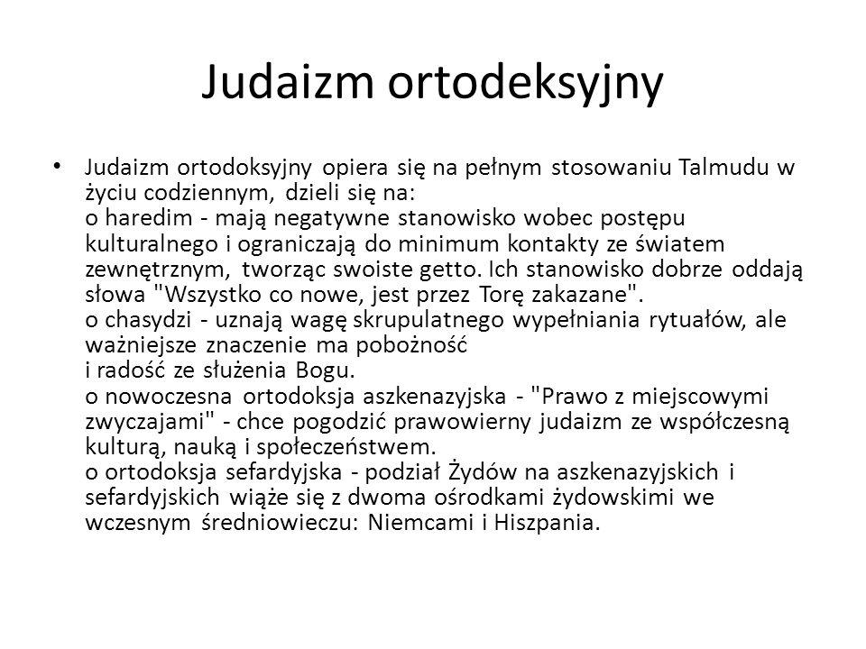 Judaizm ortodeksyjny