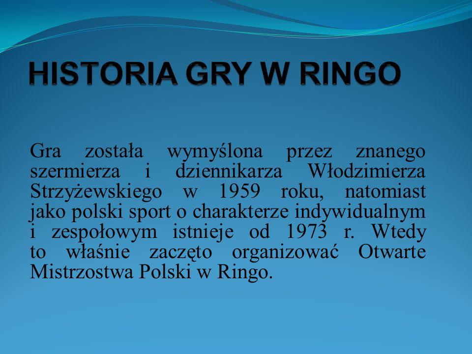 HISTORIA GRY W RINGO
