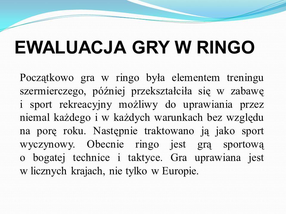 EWALUACJA GRY W RINGO