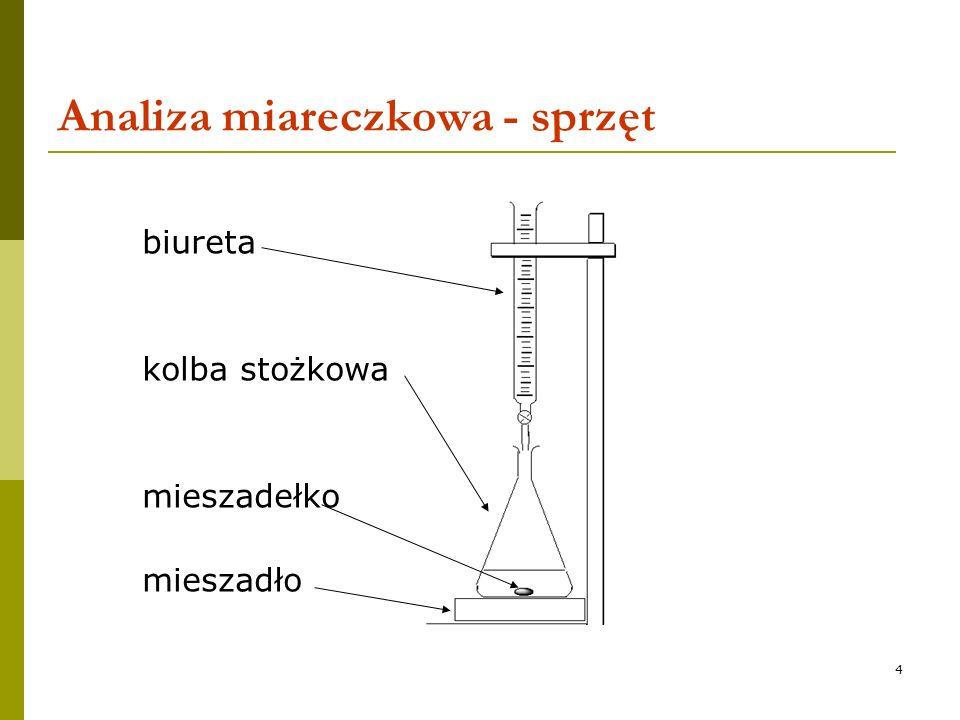 Analiza miareczkowa - sprzęt