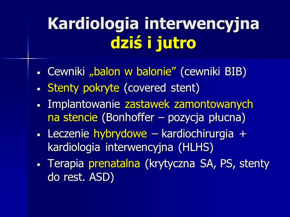 Kardiologia interwencyjna dziś i jutro