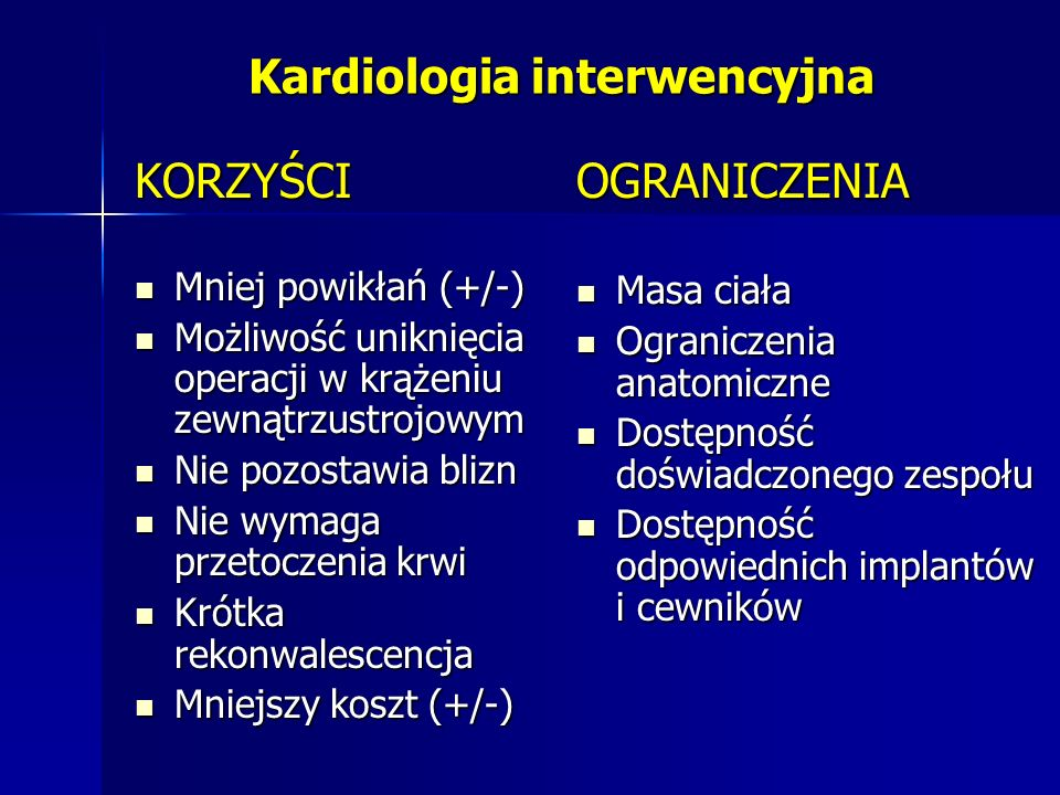 Kardiologia interwencyjna