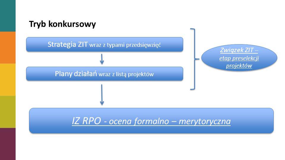 IZ RPO - ocena formalno – merytoryczna