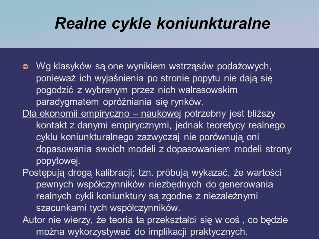 Realne cykle koniunkturalne