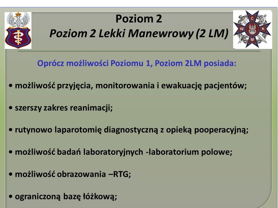 Poziom 2 Poziom 2 Lekki Manewrowy (2 LM)