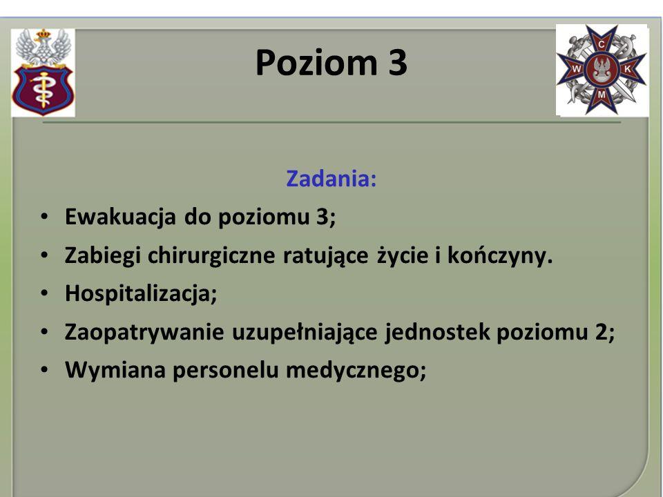 Poziom 3 Zadania: Ewakuacja do poziomu 3;