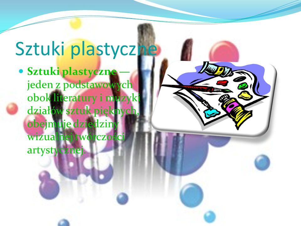 Sztuki plastyczne