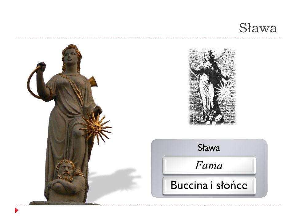 Sława Sława Fama Buccina i słońce