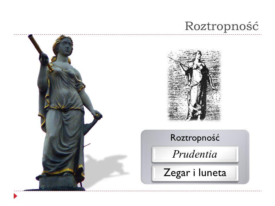 Roztropność Roztropność Prudentia Zegar i luneta