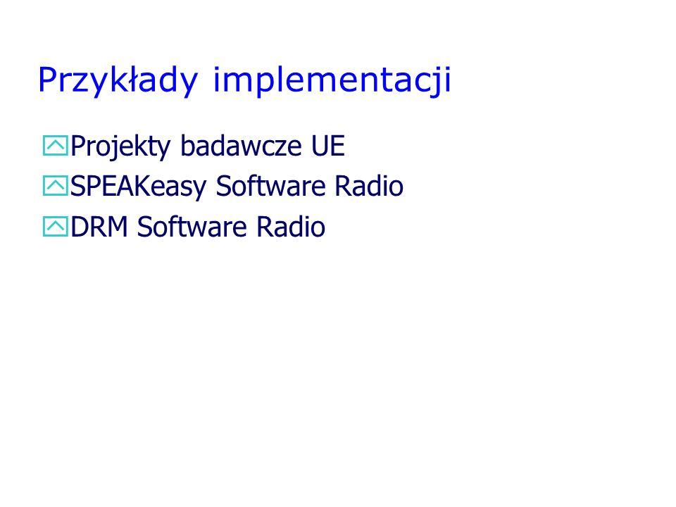 Przykłady implementacji