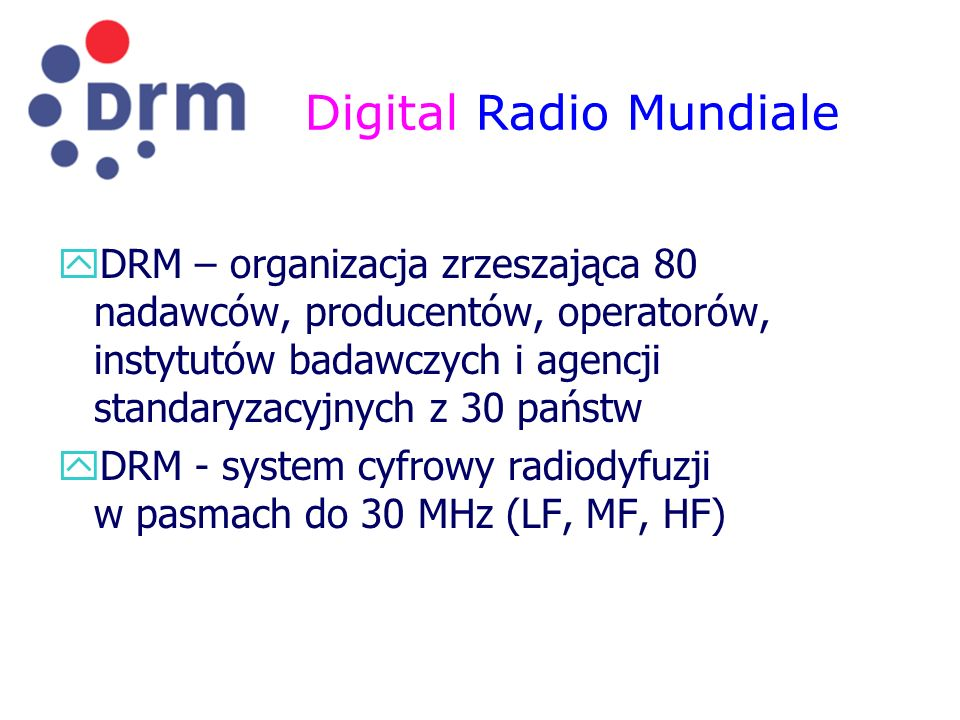 Digital Radio Mundiale